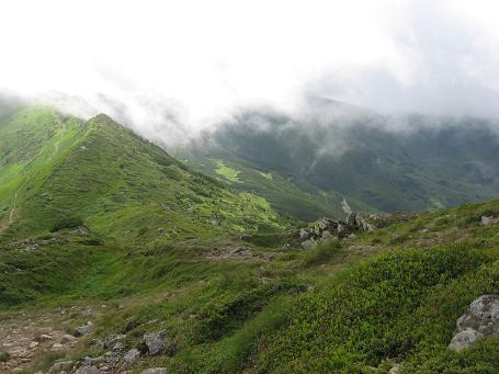 Хмари над Чорногорами