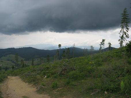 Звичайна чорна хмара. Через п'ять хвилин пішла шалена злива