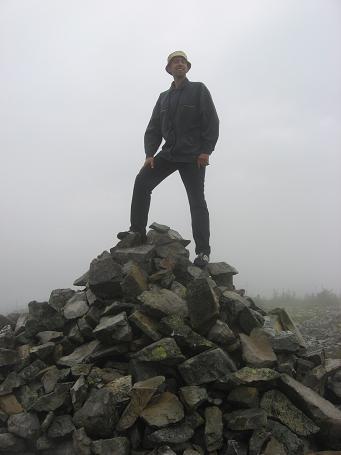Вершину взято! Навіть у хмарах з дощем