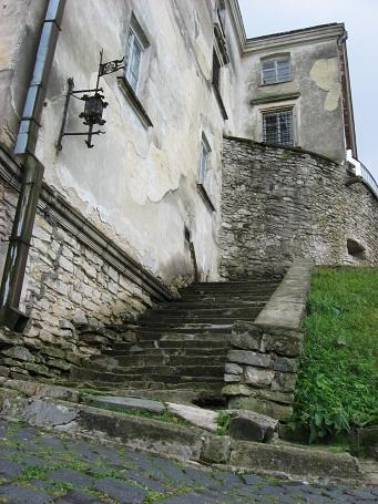 Стіни Олеського замку