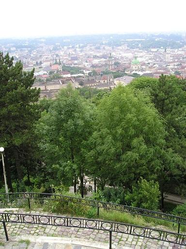 Вид з Високого замку. Одне з моїх перших цифрових фото, липень 2003