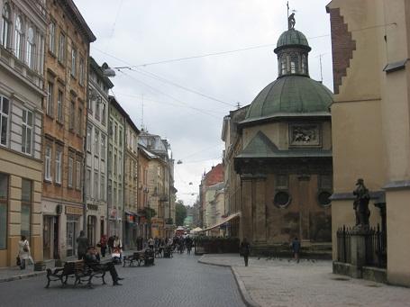 Пішохідні вулички старого міста