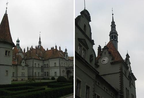 Вежі замку Шенборнів