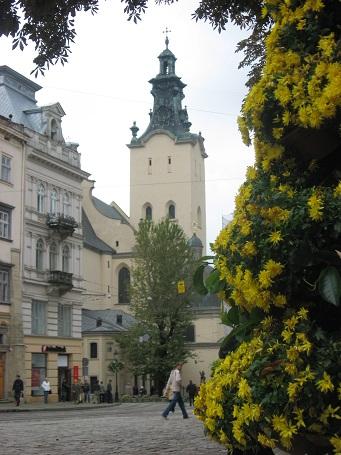 Квіти і місто