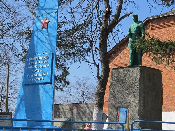 Монумент памяті Другої Світової