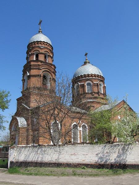 Миколаївська церква 1914 року
