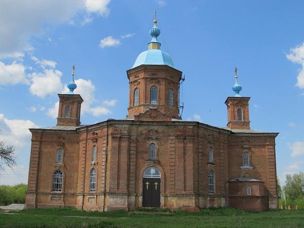 Спасо-Преображенський храм ХІХ століття