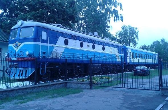 Тренувальний потяг