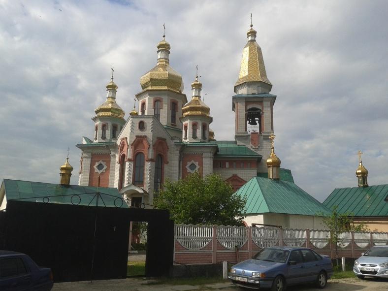 Спасо-Преображенський собор у Княжичах