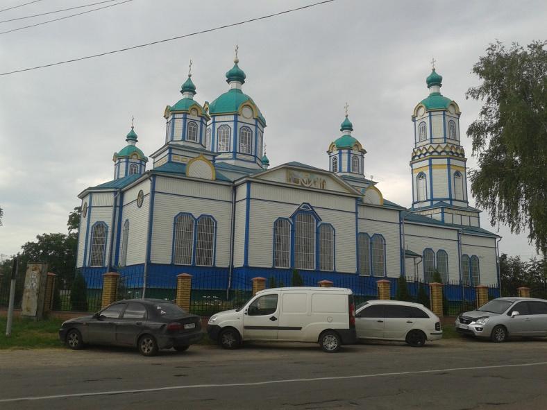 Покровська церква у Требухові
