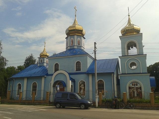 Покровська церква у Пухівці