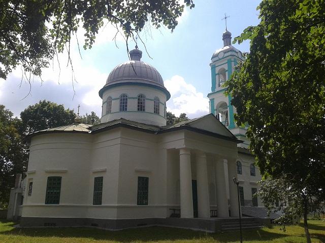 Воскресенська церква 1845 року