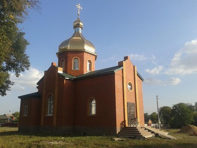 Церква у Вільшані