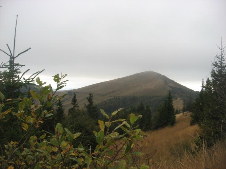 Гора Парашка. Вже майже не закрита хмарами
