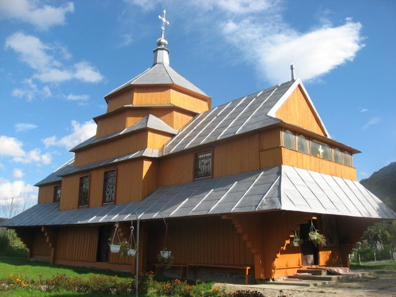 Корабель часу - церква св. Миколая в Крушельниці