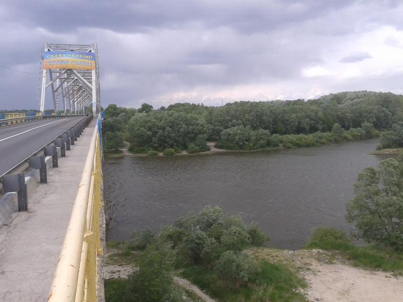 Міст через Десну в Чернігові