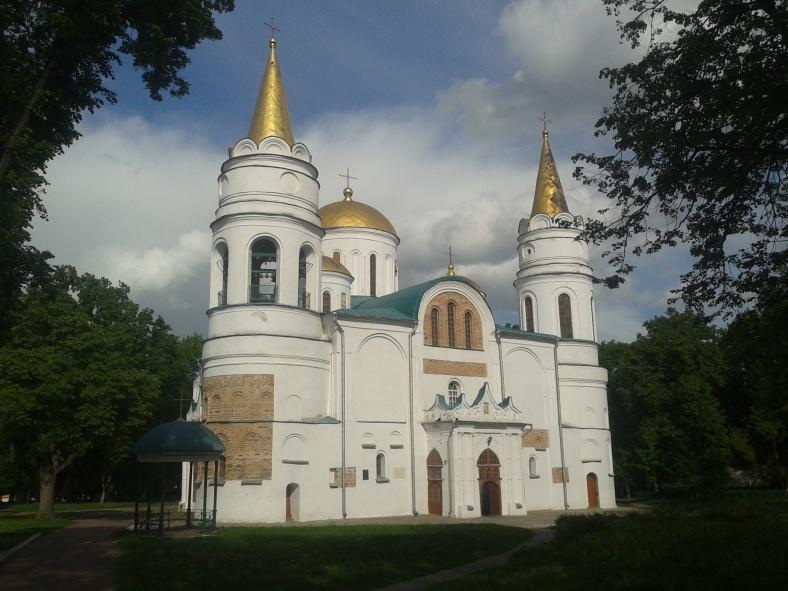Спасо-Преображенський собор (1036).