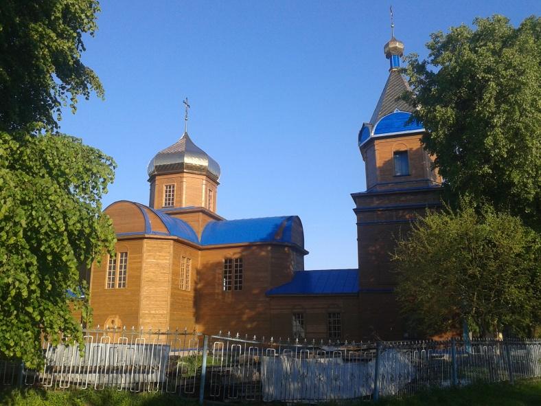 Покровська церква у Сосниці