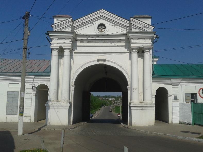 Київські ворота – колишній виїзд з Глухова у бік матері міст Руських