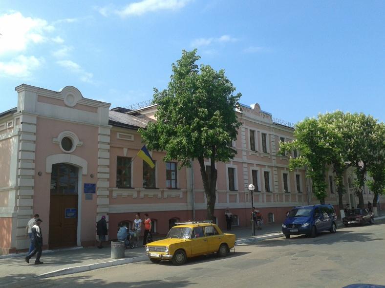 Безкоштовна лікарня святої Єфросинії, споруджена на кошти Терещенків