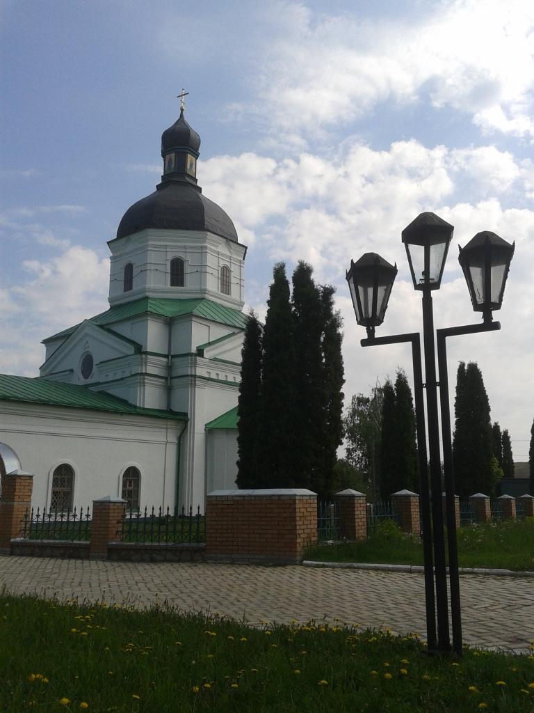 Путивльська вулиця починається від Преображенської церкви