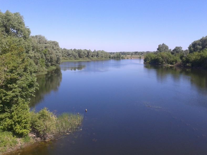 Річка Сейм. Вид з Чумаківського мосту