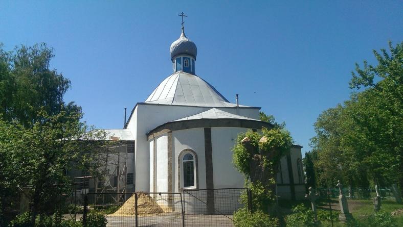 Покровська церква у Ворожбі