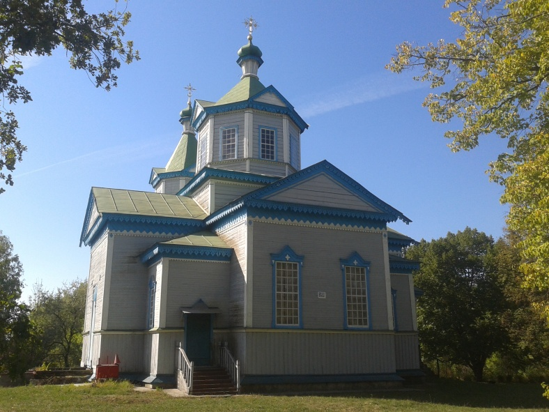 Церква здається звичайною лише ззовні