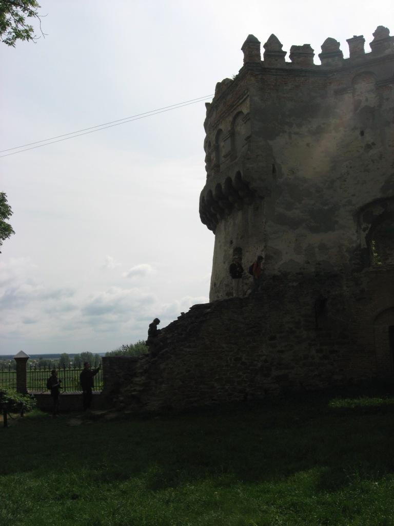 Кругла вежа – сучасний стан (вид з двору)