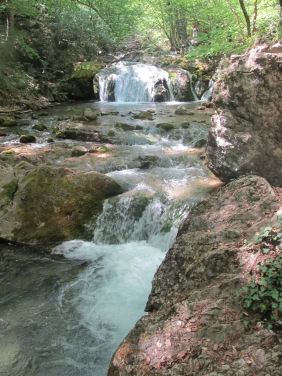 Чим далі в гори – тим більше водоспадів