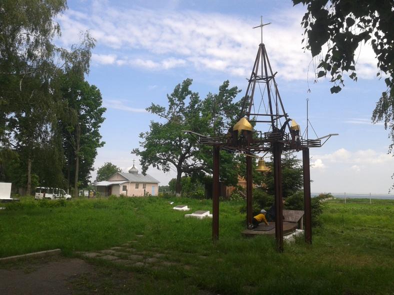 Ось така конструкція з'явилася у Витачеві з нагоди його тисячоліття