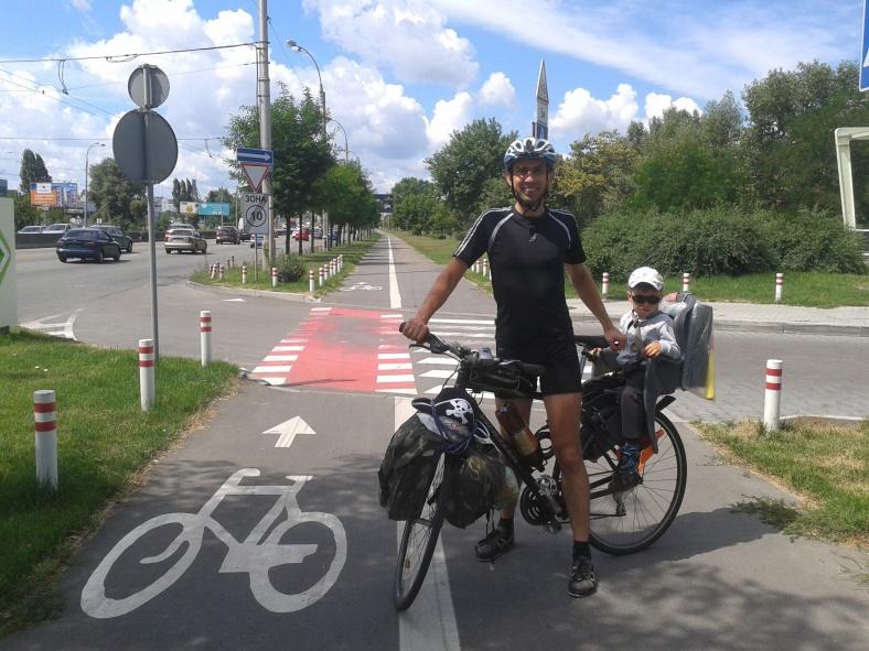 Велодоріжка – завжди радість для велосипедиста